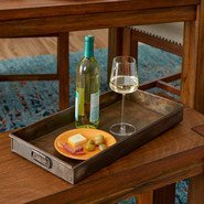 Rectangular Metal Serving Tray