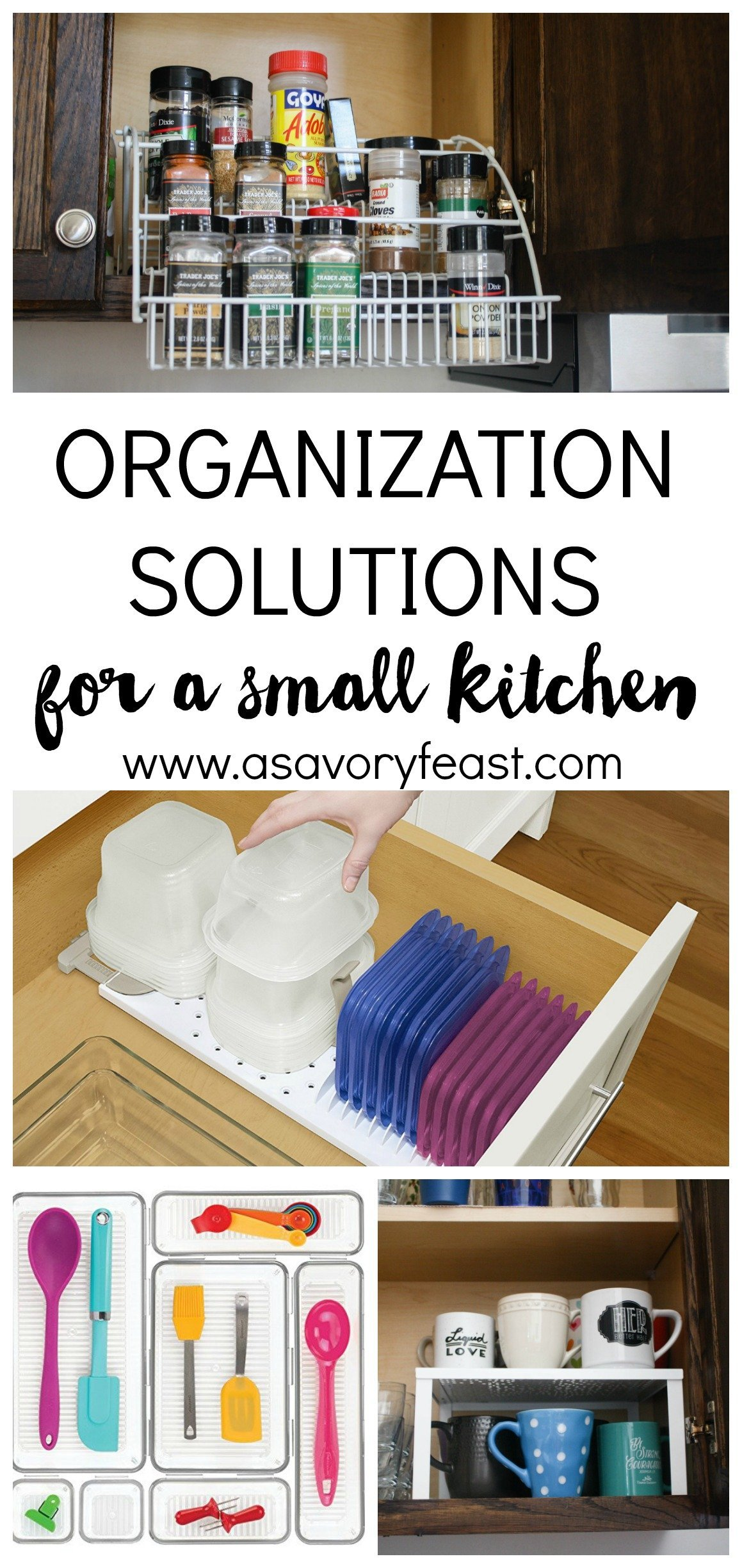 For A Small Kitchen Easy Organization Solutions For A Small Kitchen
