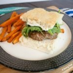 Goat Cheese and Herb Burgers with Homemade Focaccia Buns