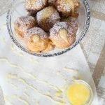 Lemon-Stuffed Ricotta Donut Holes