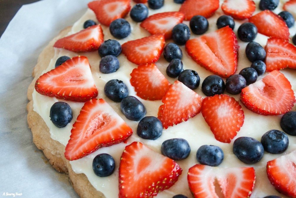 Egg free dessert idea for 4th of July Summer Cookout