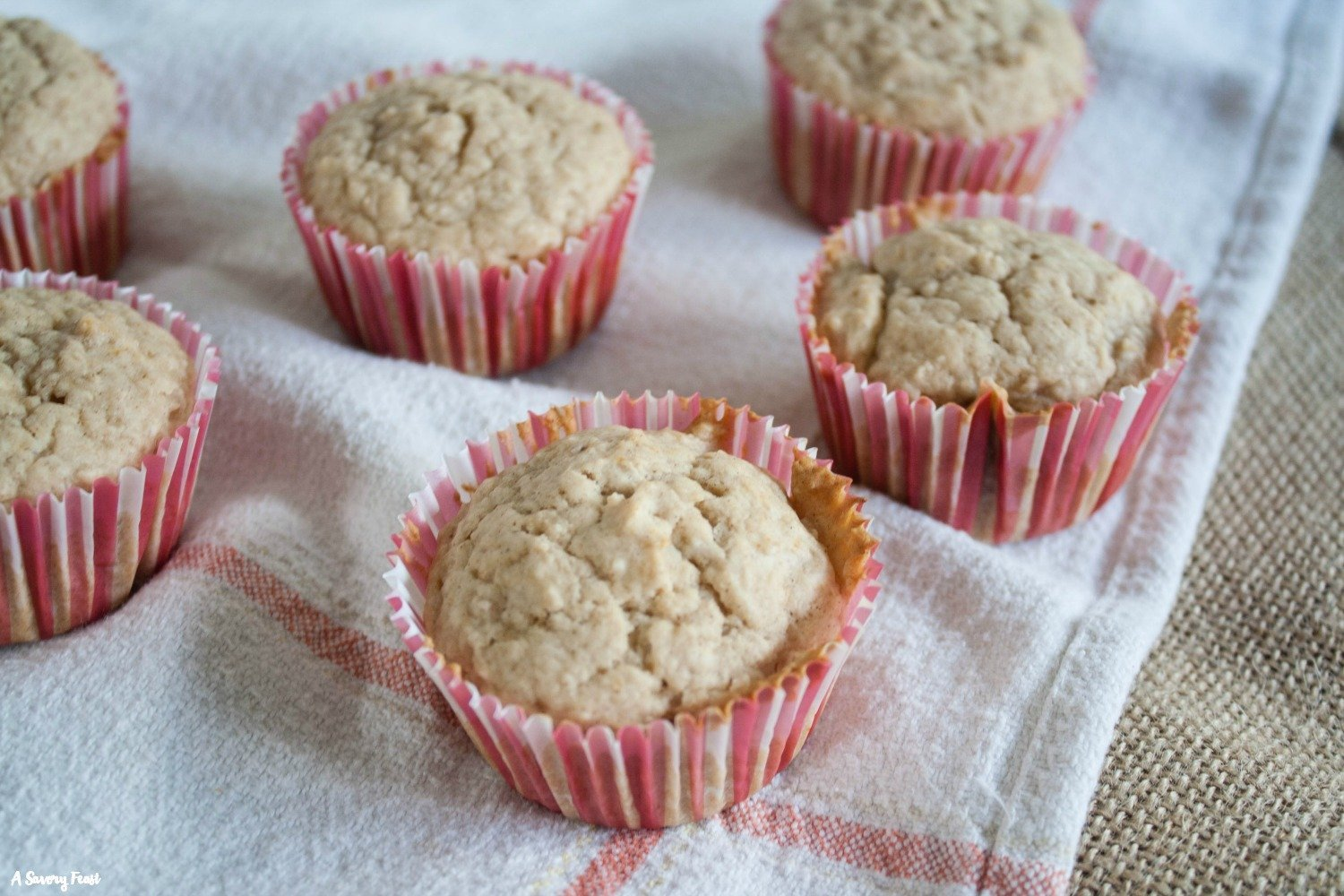 Not only are they easy to make, these One Bowl Applesauce Muffins are tasty, too!