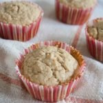 One Bowl Applesauce Muffins