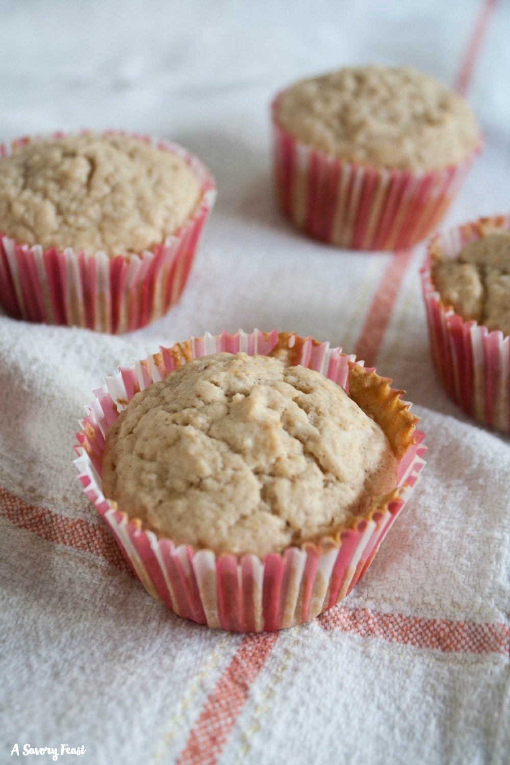 Muffins for make a delicious breakfast, and it's even easier with these One Bowl Applesauce Muffins! Try this simple recipe this week for a grab-and-go breakfast option.