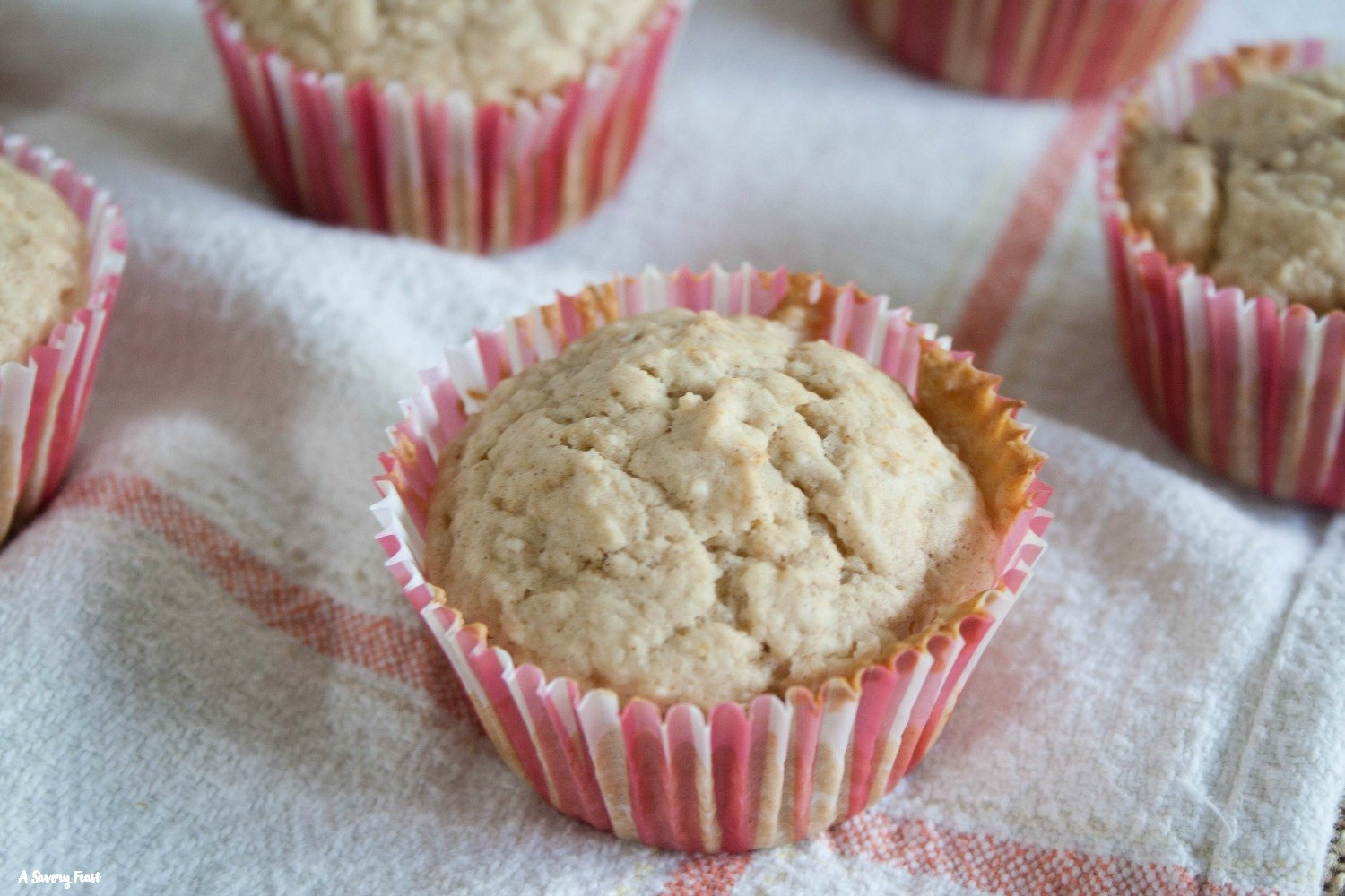 Start your day off right with these delicious One Bowl Applesauce Muffins.