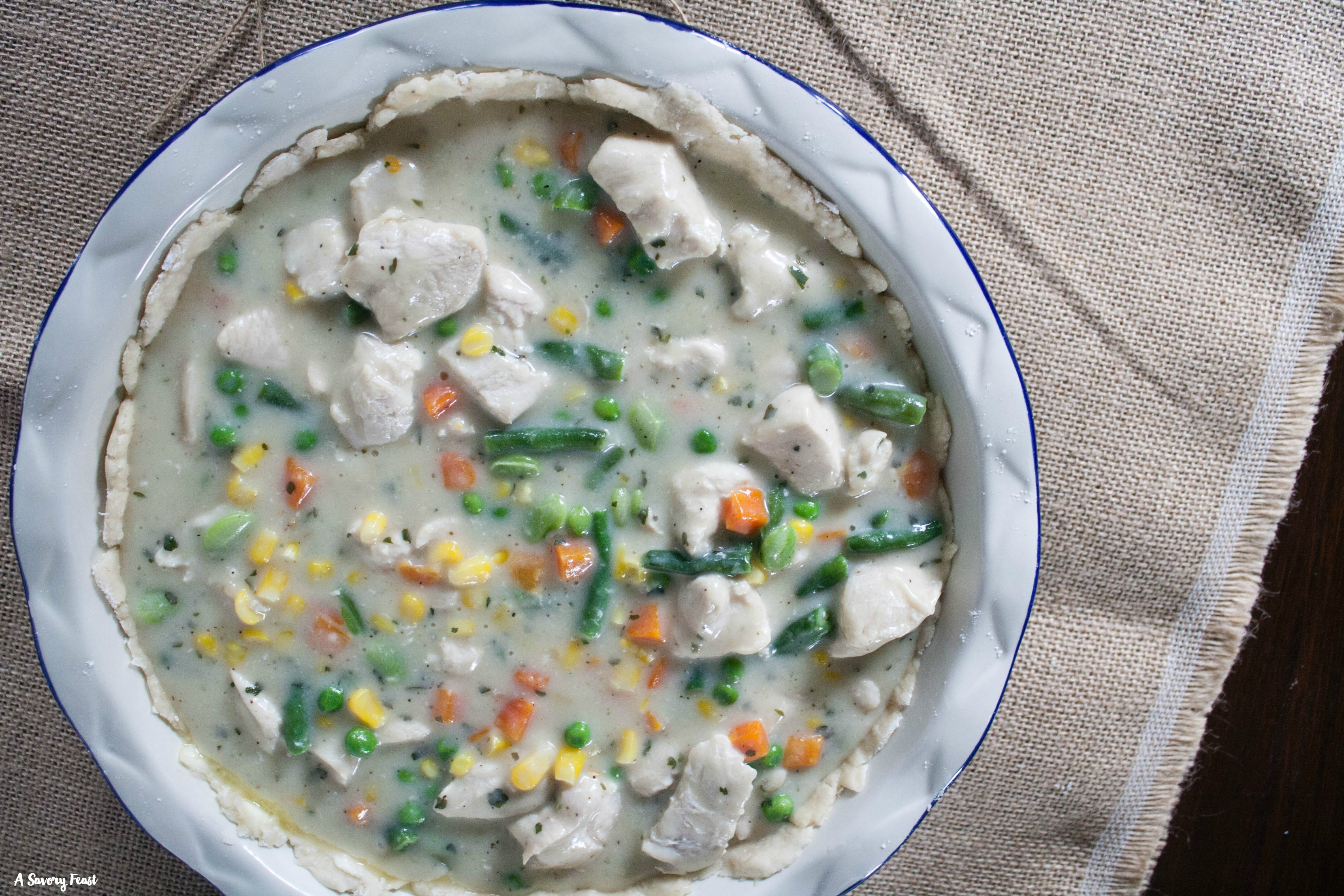 Ranch Chicken Pot Pie Recipe