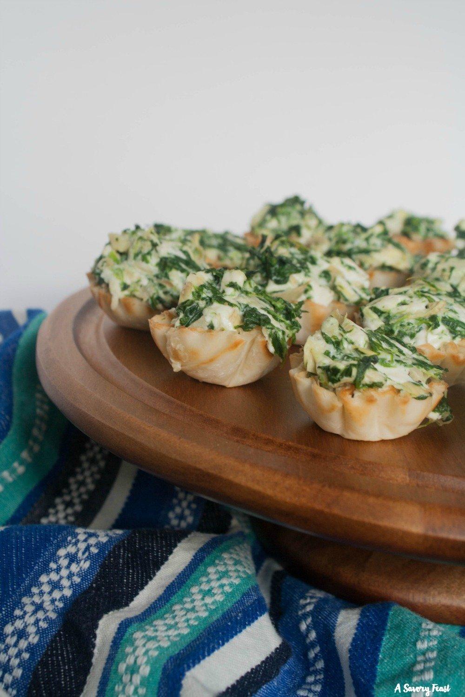 Appetizer idea for phyllo dough cups
