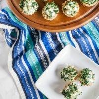 Spinach and Artichoke Phyllo Bites