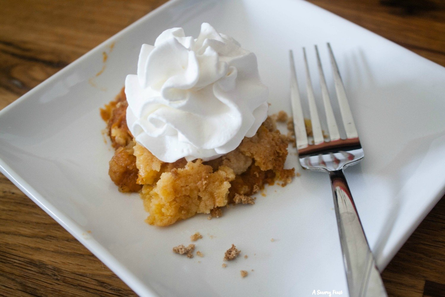 You'll be going back for seconds when you make this Pumpkin Pudding Dump Cake!