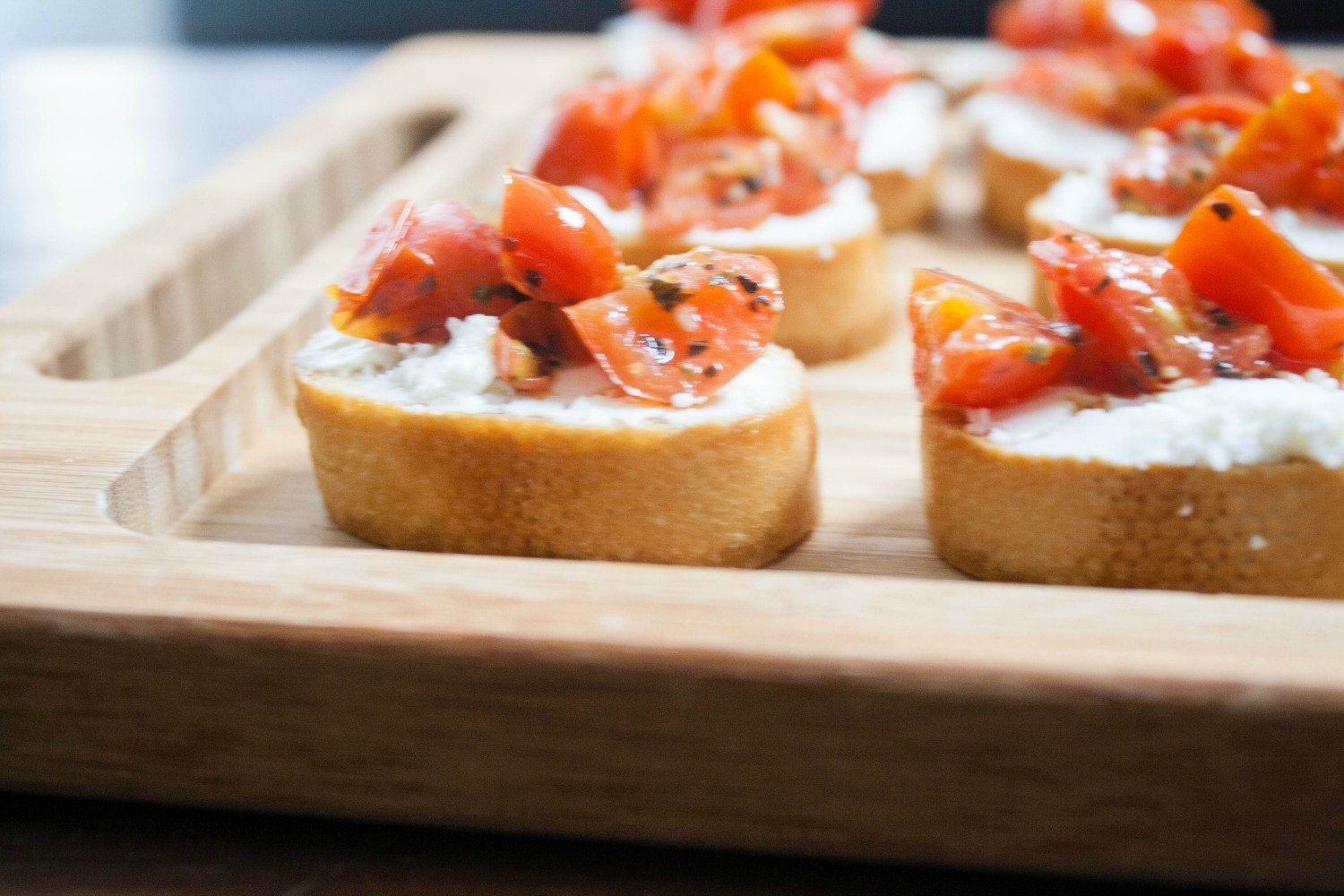 Easy appetizer idea for a wine and tapas night