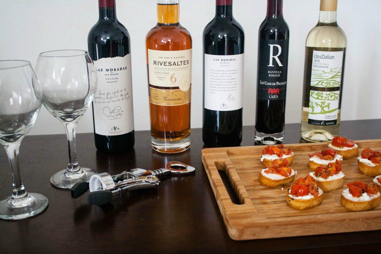 Wine and tapas night ideas