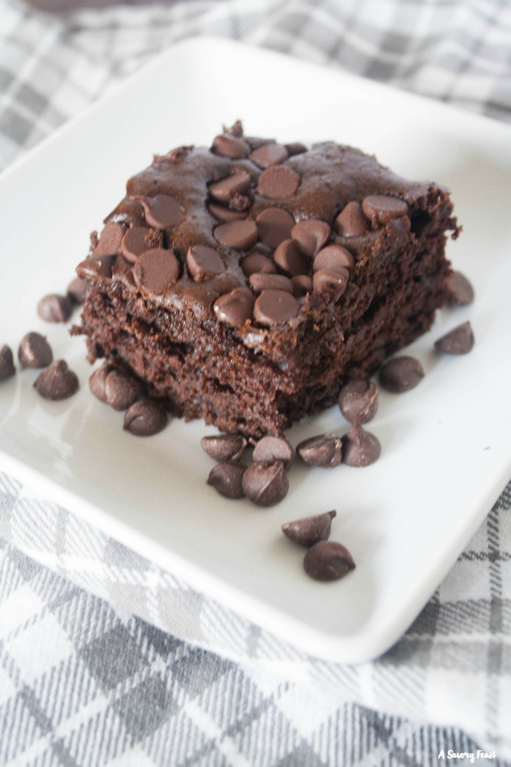Dress up a boxed cake mix and impress your guests with this Fast Fixin' Chocolate Chip Cake.