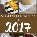 Most Popular Recipes of 2017