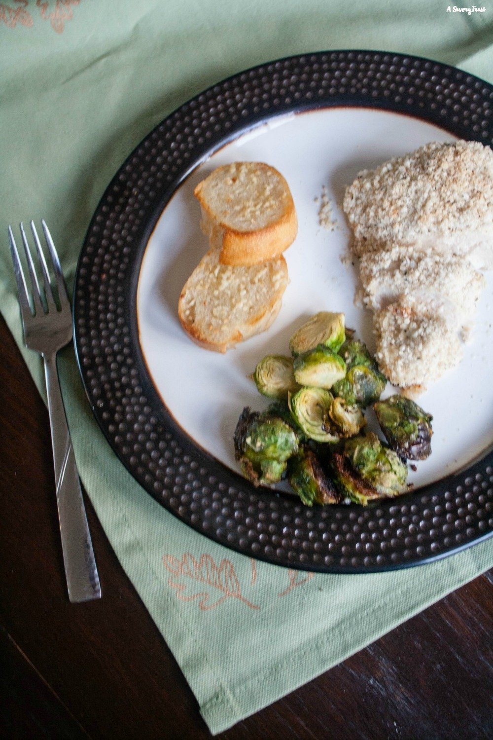 Try this healthier twist on a favorite dinner recipe tonight. Greek Yogurt Parmesan Crusted Chicken