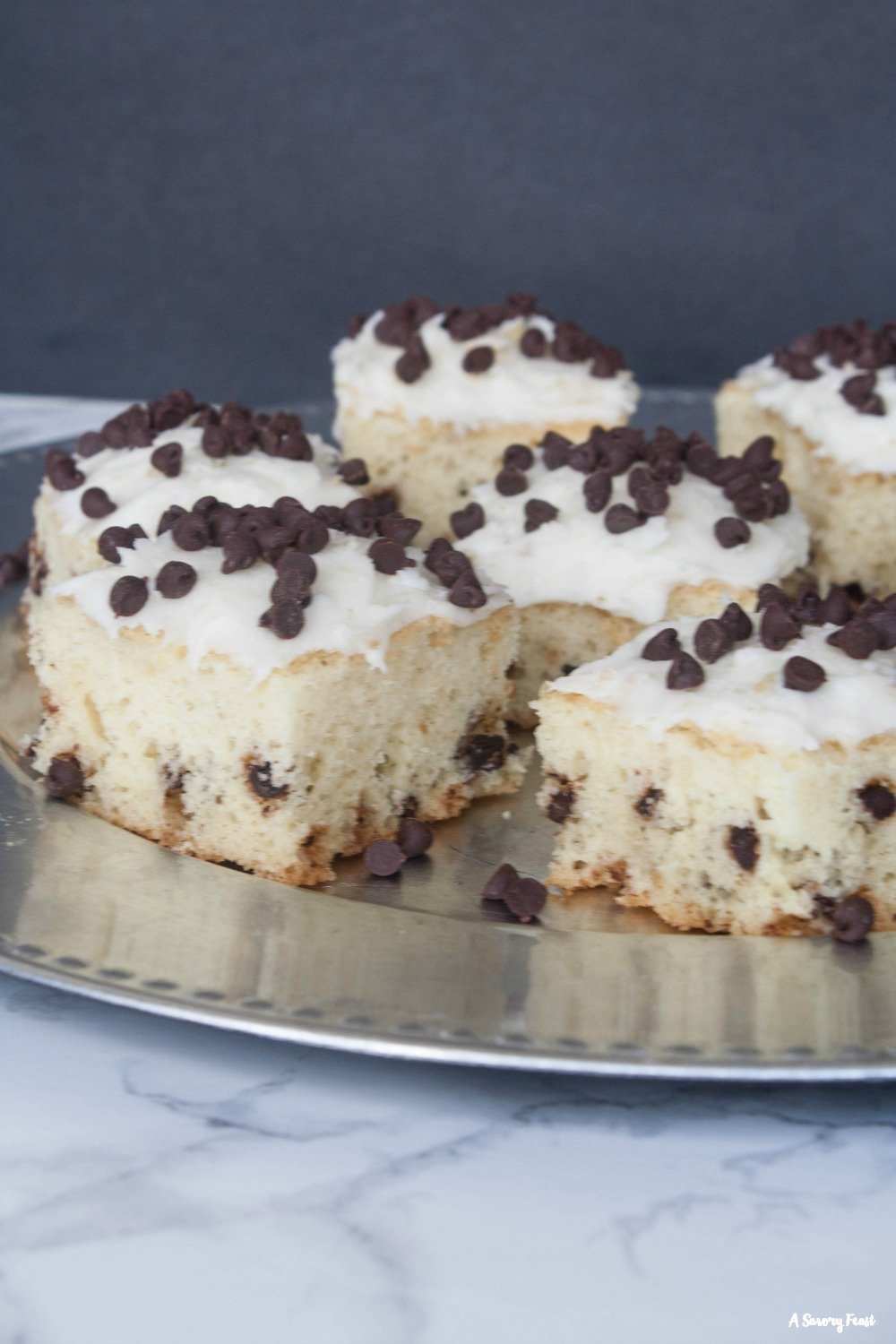 Chocolate Chip Snack Cake is a fun and tasty dessert idea!