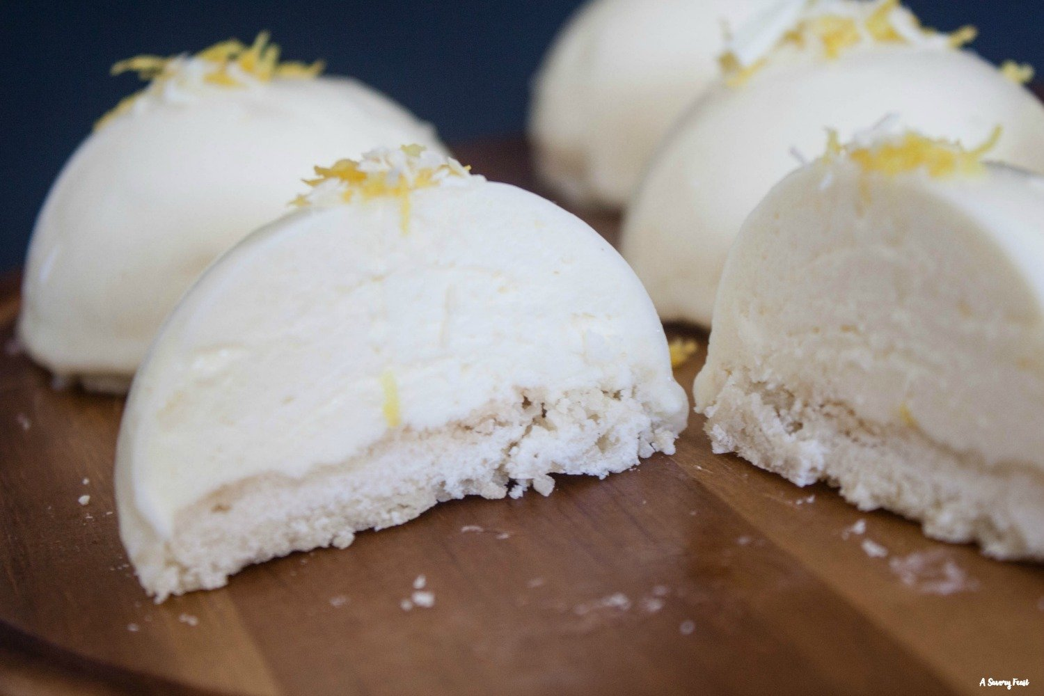 Show off your baking skills with these Mini Lemon Mousse Cakes.