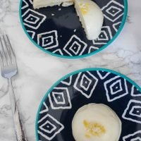 Mini Lemon Mousse Cakes