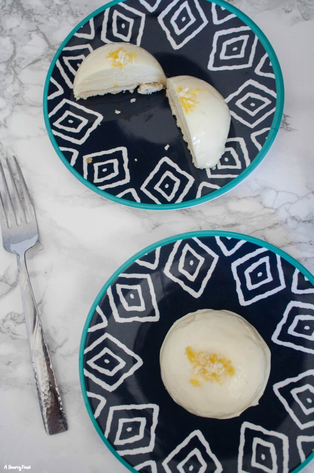 Looking for a show-stopping dessert? Look no further. Lemon Mousse Cakes start with a shortbread crust and a tart lemon mousse, topped off with a white chocolate mirror glaze.