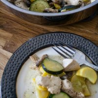 Lemon Pepper Chicken and Vegetables