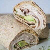 Turkey & Hummus Wraps