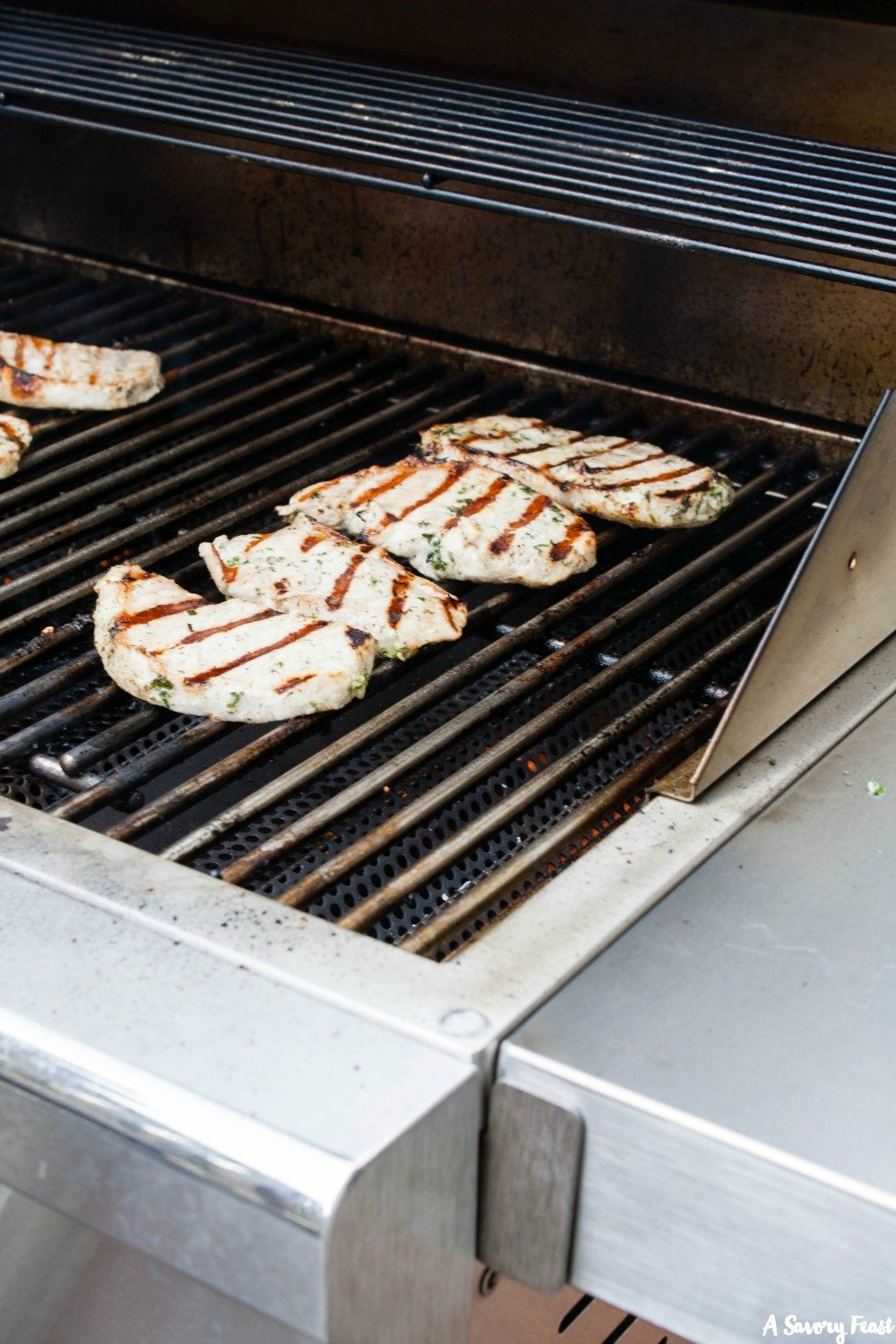 Grill recipe idea: Ranch Grilled Pork Chops