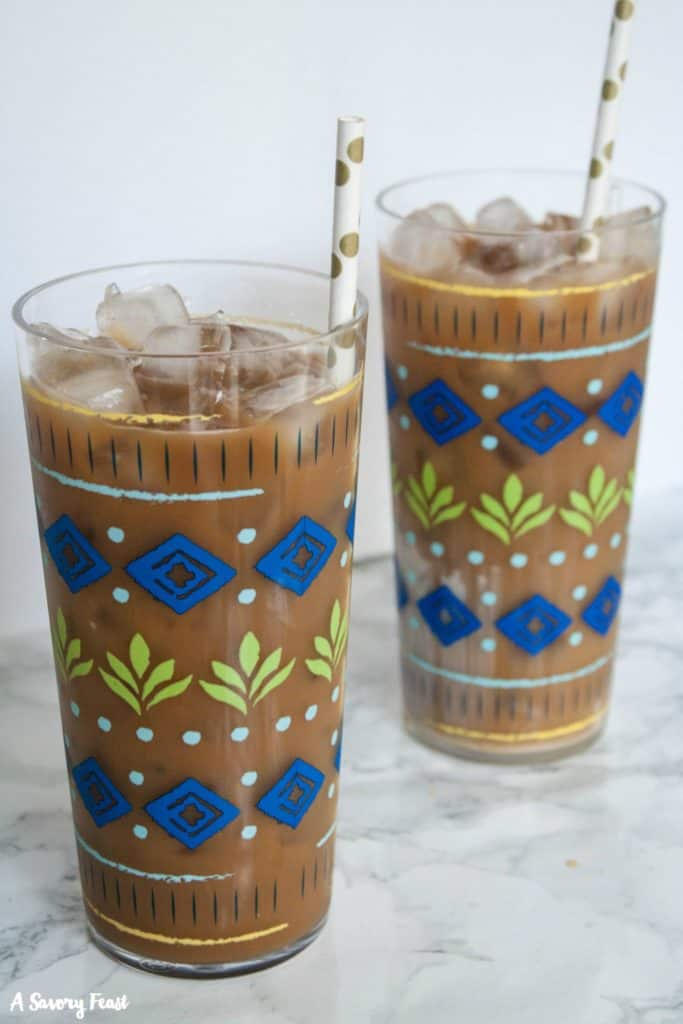 The Best Iced Coffee from A Savory Feast