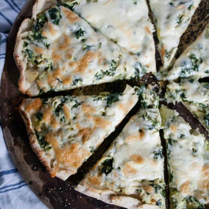 Chicken, Spinach & Artichoke Pizza