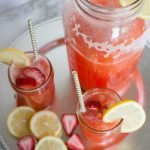 Honey-Sweetened Strawberry Lemonade