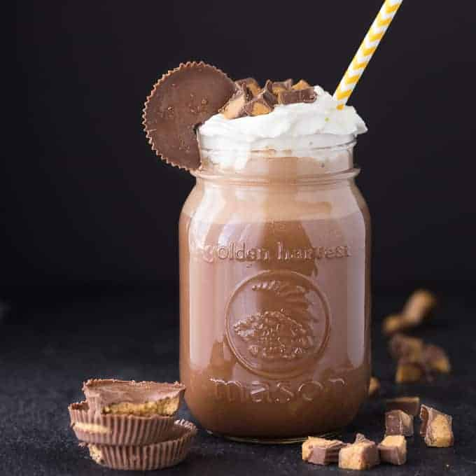 Reese Coffee Milkshake from Simply Stacie
