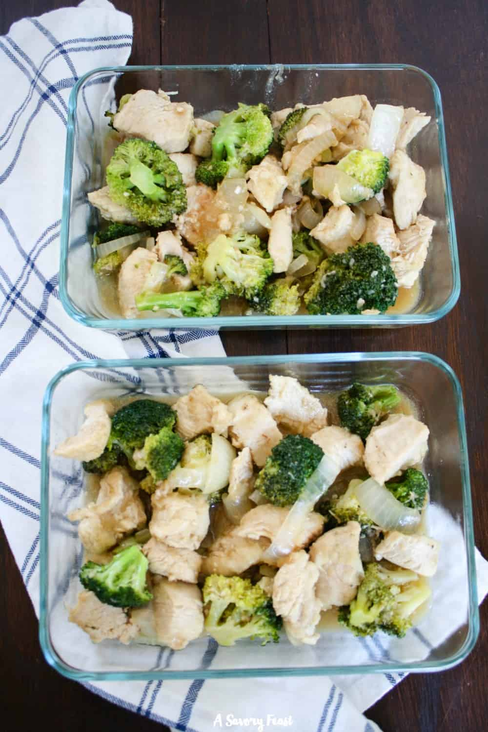 Easy Chicken and Broccoli Stir-Fry, great for meal prepping!