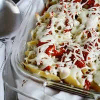 Italian Ground Turkey Stuffed Shells