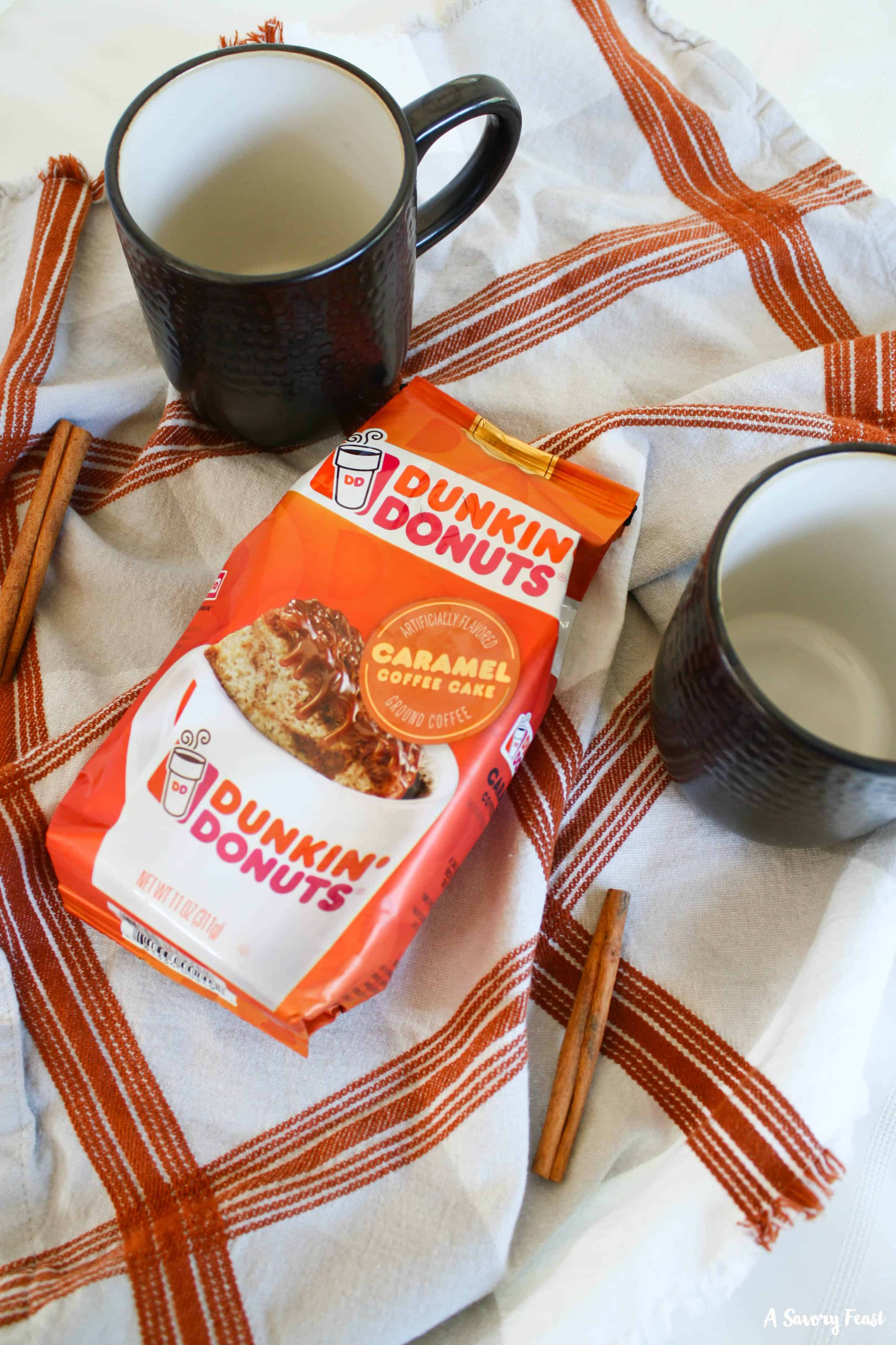 Dunkin' Donuts Caramel Coffee Cake Flavored Coffee