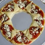 Tomato and Goat Cheese Puff Pastry Wreath