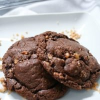 Toffee Chocolate Cookies