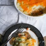Cheesy Steak Shepherd's Pie