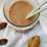 Healthy Date-Sweetened Chocolate Shake