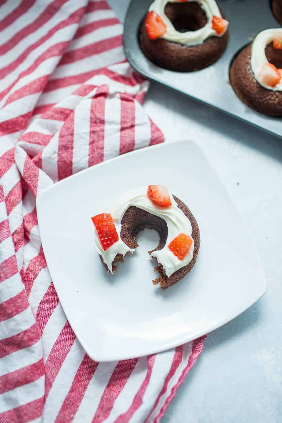 Strawberry Brownie Donuts from A Joyfully Mad Kitchen