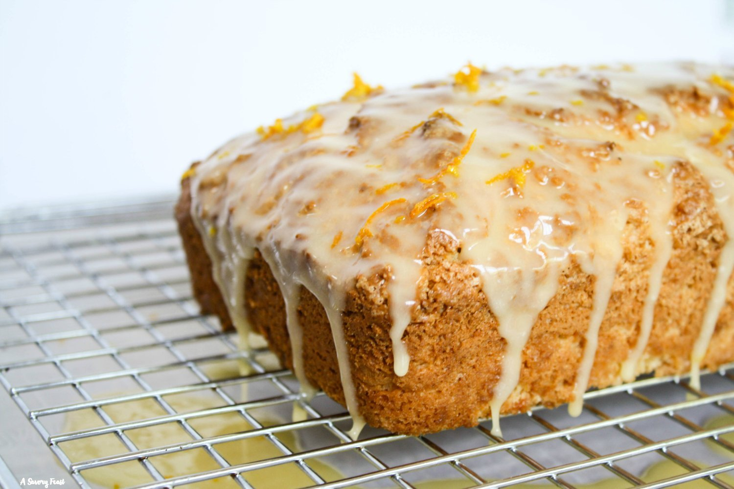 Orange Cream Cheese Loaf Cake