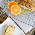 Orange Cream Cheese Loaf Cake #SpringSweetsWeek