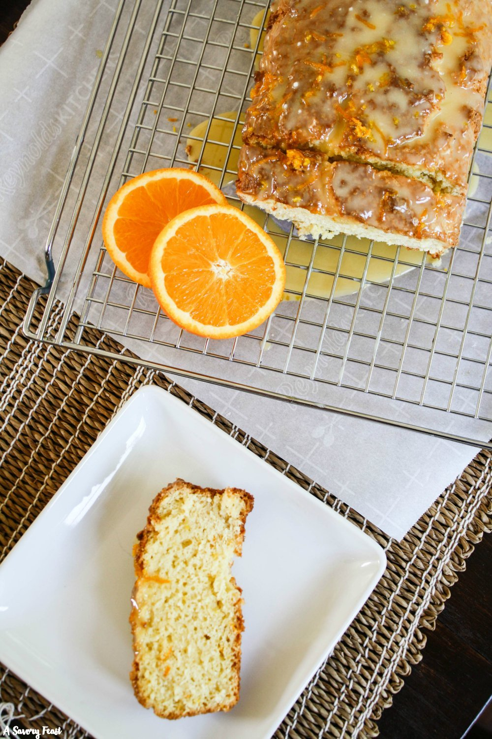 Spring dessert idea: Orange Cream Cheese Loaf Cake