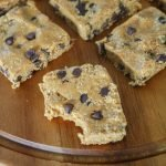 Healthier Cookie Dough Bars