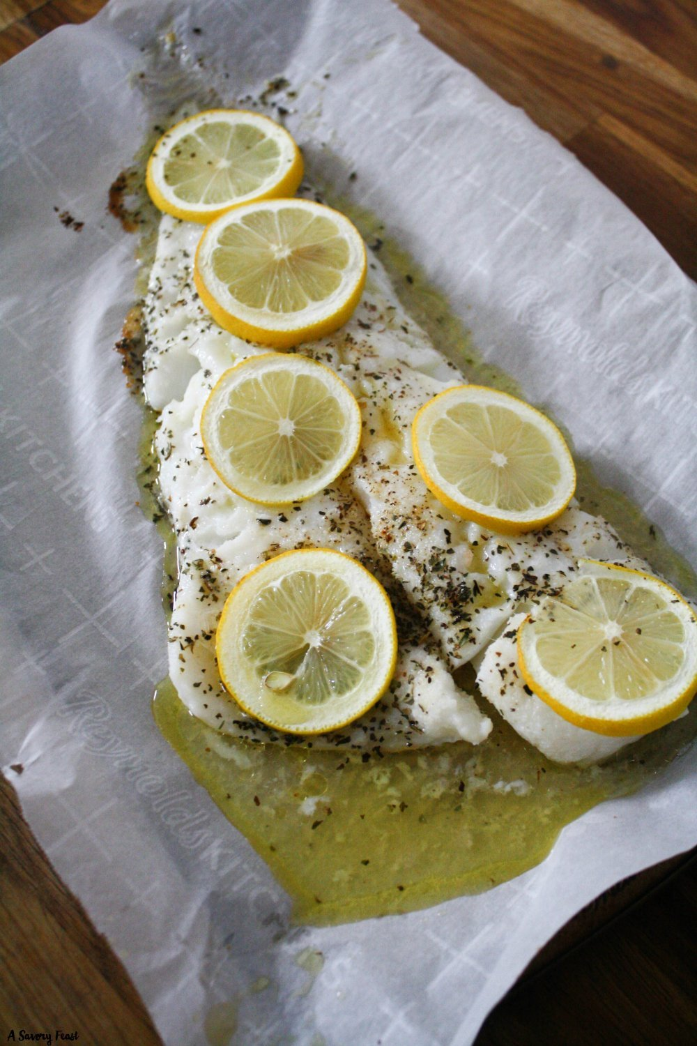 Easy fish recipe for baked cod