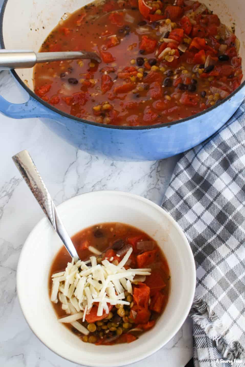 Recipe for Tomato Lentil Soup