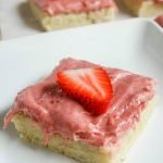 Strawberry Shortbread Bars #SpringSweetsWeek