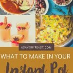 What to Make in Your Instant Pot This Fall