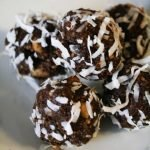 Chocolate Coconut Date Energy Balls