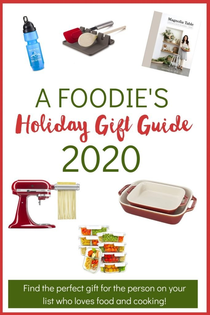Looking for the perfect gift for someone who loves food and cooking? A Foodie's Holiday Gift Guide has lots of ideas in any price range. This guide has a section of ideas from small businesses, plus must-have kitchen tools and gadgets and other fun foodie gift ideas.