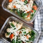 Italian Chicken Meal Prep Bowls