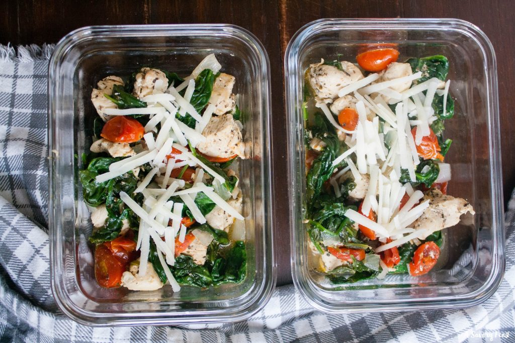 Easy Italian Chicken Meal Prep Bowls Recipe
